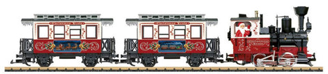 LGB 72304 - Christmas Train Starter Set  (G Scale)