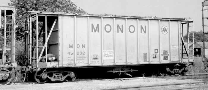 "Atlas O 30010Mon - 40' GATX Airslide Hopper ""Monon"" - Custom Run for MrMuffin'sTrains"