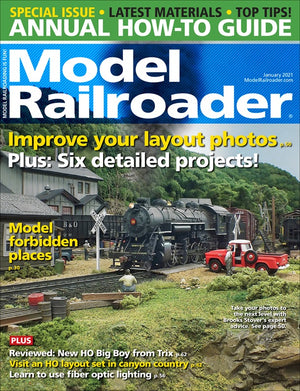 Model Railroader - Magazine - Vol. 88 - Issue 01 - Jan. 2021