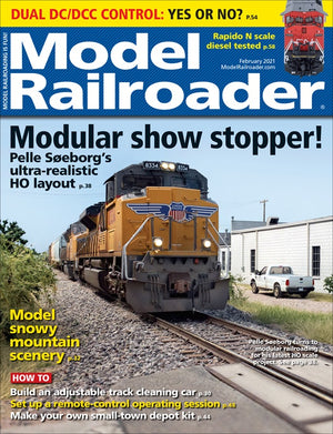 Model Railroader - Magazine - Vol. 88 - Issue 02 - Feb. 2021