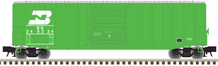 "Atlas O 2001016 - Trainman - 50'6"" Box Car ""Burlington Northern"" new road numbers for 2018"