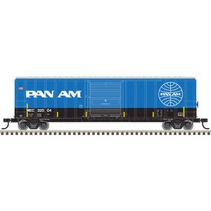 "Atlas O 2001032 - Trainman - 50'6"" Box Car ""Pan Am"""