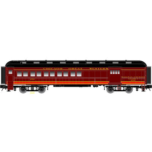 "Atlas O 2001225 - Trainman - 60' Combine Car ""Chicago & Great Western"""