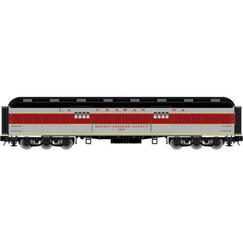 "Atlas O 2001305 - Trainman - 60' Baggage ""Lackawanna"" - New Numbers"