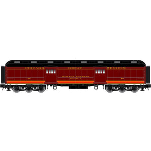 "Atlas O 2001325 - Trainman - 60' Baggage ""Chicago Great Western"""