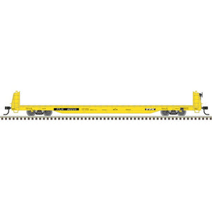 "Atlas O 2001771 - Trainman - Short Bulkhead Flat Car ""TTX"" (2-Rail) - 11/20 Announcement"