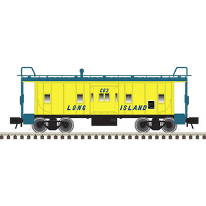"Atlas O 2001794 - Trainman - Bay Window Caboose ""Long Island"" (2-Rail)"