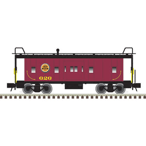 "Atlas O 2001795 - Trainman - Bay Window Caboose ""Chicago Great Western"" (2-Rail)"