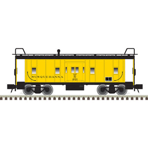 "Atlas O 2001798 - Trainman - Bay Window Caboose ""New York, Susquehanna and Western"""