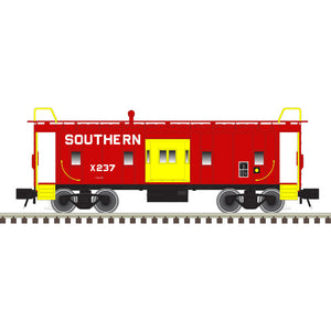 "Atlas O 2001799 - Trainman - Bay Window Caboose ""Southern"" - 2 Rail"