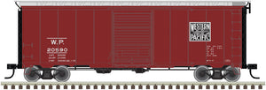 "Atlas O 2002231 - 40' Sliding Door Box Car ""Western Pacific"""