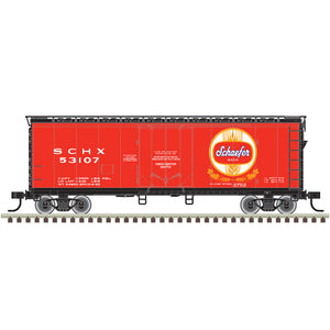 "Atlas O 2002363 - Trainman - 40' Plug Door Box Car ""Schaefer"" 2-Rail"