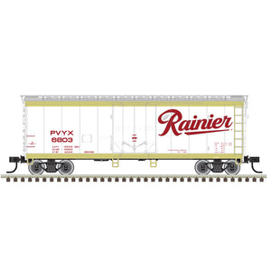 "Atlas O 2002314 - Trainman - 40' Plug Door Box Car ""Rainier"""