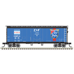 "Atlas O 2002365 - Trainman - 40' Plug Door Box Car ""Old Style"" 2-Rail"