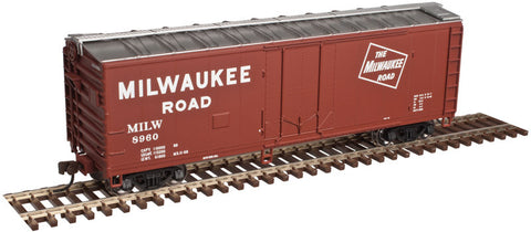 AO-2002308 Atlas O Trainman 40' Plug Door Box Car - Milwaukee Road - 3 Rail