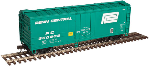 AO-2002310 Atlas O Trainman 40' Plug Door Box Car - Penn Central - 3 Rail