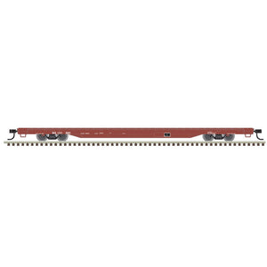"Atlas O 2002660 - Trainman - 68' Flat Car ""Norfolk Southern"" (2-Rail) - 11/20 announcement"