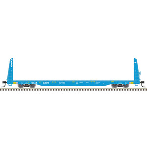 "Atlas O 2002671 - Trainman - Bulkhead Flat Car ""General American - GAEX"" (2-Rail) - 11/20 Announcement"