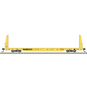 "Atlas O 2002672 - Trainman - Bulkhead Flat Car ""TTX - Forward Thinking"" (2-Rail) - 11/20 Announcement"