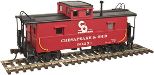 "Atlas O 2003003 - Trainman - C&O Cupola Caboose ""Chesapeake & Ohio"" - 2-Rail"