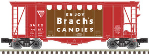 "Atlas O 3002049 - 40' GATX Airslide Hopper ""Brach's Candies"" (2-Rail)"