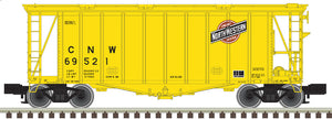 "Atlas O 3002073 - 40' GATX Airslide Hopper ""Chicago & North Western"" (2-Rail)"