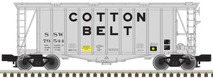"Atlas O 3002076 - 40' GATX Airslide Hopper ""Cotton Belt"" (2-Rail)"