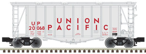 "Atlas O 3002079 - 40' GATX Airslide Hopper ""Union Pacific"" (2-Rail)"