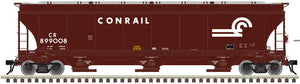 "Atlas O 3002137 - Trinity 5161 cu. ft. Covered Hoppers ""Conrail"" - 2 Rail"