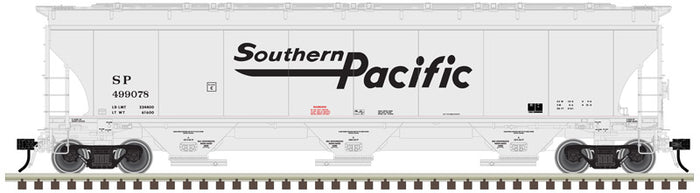 "Atlas O 3002138 - Trinity 5161 cu. ft. Covered Hoppers ""Southern Pacific"" - 2 Rail"