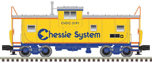 "Atlas O 3001273 - Extended Vision Caboose ""Chessie System"""