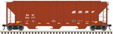 "Atlas O 3001364 - PS-4427 Covered Hopper ""BNSF"""
