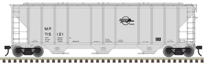 "Atlas O 3001367 - PS-4427 Covered Hopper ""Missouri Pacific"""