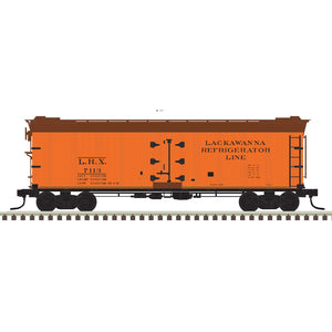 "Atlas O 3002530 - 40' Re-Built Wood Reefer Car ""Lackawanna"" - 2 Rail - 11/2020 announcement"