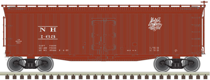 "Atlas O 3002559 - 40' Wood Reefer ""New Haven"" - 2 Rail"