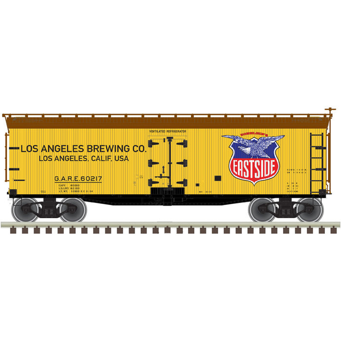 "Atlas O 3002568 - 40' Wood Reefer ""Eastside"" 2-Rail"