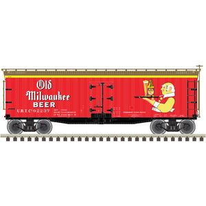 "Atlas O 3001572 - 40' Wood Reefer ""Old Milwaukee"""