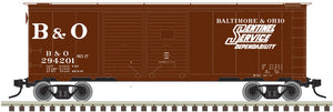 "Atlas O 3001829 - 40' 1937 AAR Box Car - Double Door ""Baltimore & Ohio"""