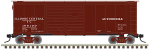 "Atlas O 3001830 - 40' 1937 AAR Box Car - Double Door ""Illinois Central"""