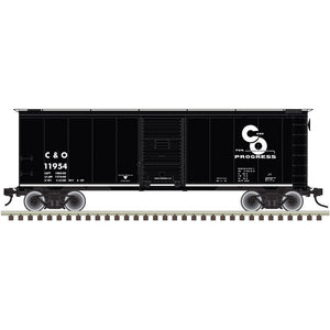 "Atlas O 3002833 - 40' 1937 AAR Box Car - Single Door ""Chesapeake & Ohio"" - 2 Rail"
