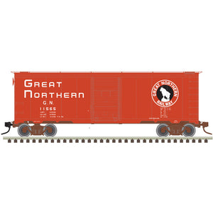 "Atlas O 3002834 - 40' 1937 AAR Box Car - Single Door ""Great Northern"" - 2 Rail"