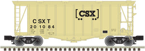 "Atlas O 3002042 - 40' Airslider Hopper Car ""CSX"" (2-Rail)"
