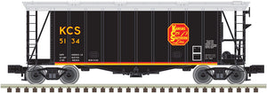 "Atlas O 3001043 - 40' GATX Airslide Hopper ""Kansas City Southern"" (Belle)"