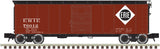 "Atlas O 3001909 - 1923 ARA (X-29) 40' Steel Box Car ""Erie"""