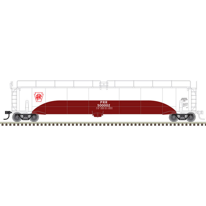 "Atlas O 3004009 - 33,000 Gallon Tank Car ""Pennsylvania Railroad"" (2-Rail)"