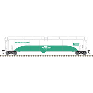 "Atlas O 3004015 - 33,000 Gallon Tank Car ""Penn Central"" (2-Rail)"