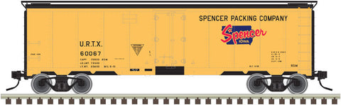 "Atlas O 3003911 - 40' Steel Reefer ""Spencer Packing Company"""