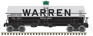 "Atlas O 3005502 - 11,000 Gallon Tank Car ""Warren"" - 1/21 announcement"