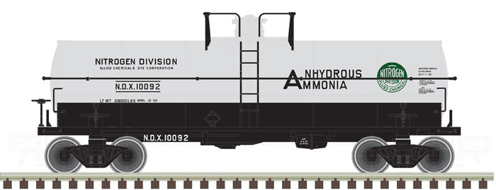 "Atlas O 3005519 - 11,000 Gallon Tank Car ""Allied Chemical"" (NDX)"