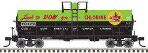 "Atlas O 3005521 - 11,000 Gallon Tank Car ""Dow Canada"" (CGTX)"